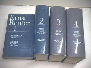 Ernst Reuter. Schriften. Reden.: Hans E. Hirschfeld / Hans J. Reichardt (Hg.)