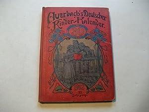 Auerbach's Kinder-Kalender auf das Jahr 1912.: B�tticher, Georg (Hg.)