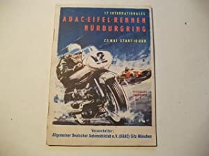 17. Internationales ADAC Eifel-Rennen Nürburgring.: Rennsport