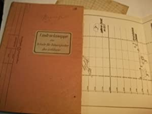 Umdruckmappe der Schule für Fahnenjunker der Artillerie.