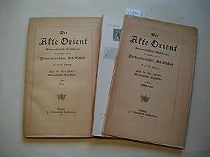 Altorientalische Siegelbilder. 2 Bände, Text- und Tafelband.: Weber, Otto