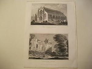 Grey Friars' Church u. Linlithgow Palace.: England, Edinburgh.