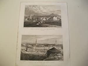 Part of the new town, from north west u. part of the new town, from Ramsey Garden.: England, ...