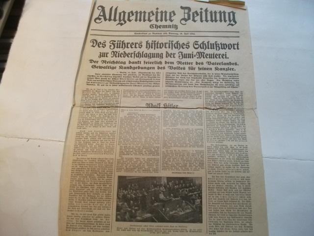 Sonderblatt.: Allgemeine Zeitung