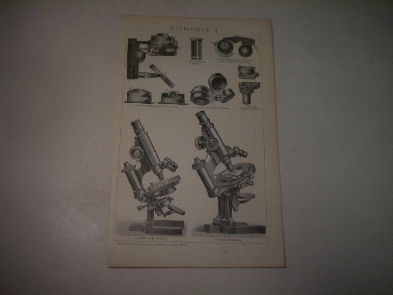 Das mikroskop und zvab