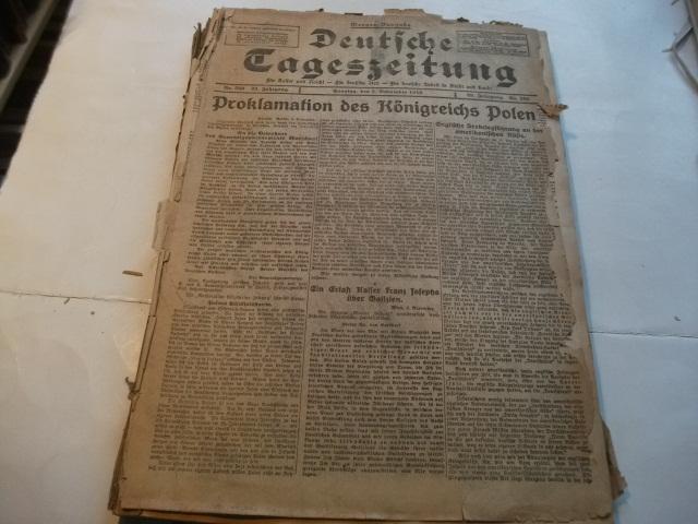 Für Kaiser und Reich! -Für deutsche Art!: Deutsche Tageszeitung.