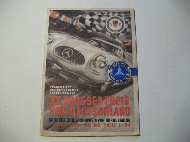 Auto & Motorrad: Teile Nürburgring Jahresprogramme Konvolut