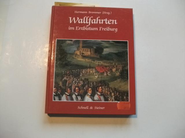 Wallfahrten im Erzbistum Freiburg.: Brommer, Herrmann (Hg.)