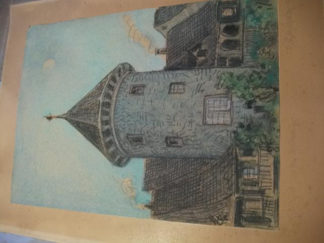 Waldshut, an der Stadtmauer.: Unleserlich signiert