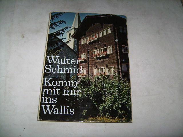 Komm mit mir ins Wallis.: Schmid, Walter