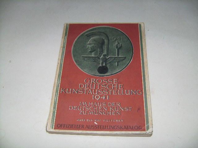 Grosse deutsche Kunstausstellung 1941 im Haus der Deutschen Kunst zu München.