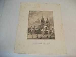 Cathedrale de Basle.: Basel