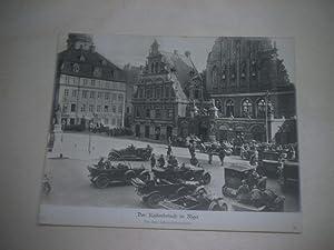 Der Kaiserbesuch in Riga.: Pressefoto/ Propagandafoto/Aushängefoto für die Wochenschau