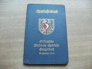 Nr. 4625.: Sparkassenbuch