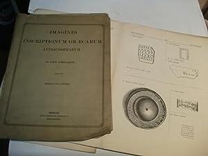 Images instructionum Graecarum Antiquissimarum in usum scholarum.: Roehl, Hermann