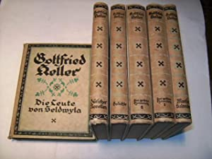 Gesammelte Werke.: Keller, Gottfried