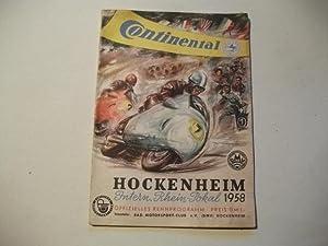 Hockenheim Intern. Rhein-Pokal.: Rennsport