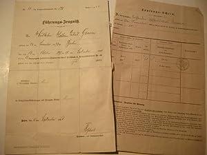 12. Kompagnie Infanterie-Regiment Graf Kirchbach 81. Niederschlesisches) Nr. 46.: Führungs-Zeugniß