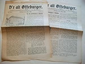 D'r alt Offeburger. Zeitschrift für Heimatkunde für die Offenburger in der Nähe...