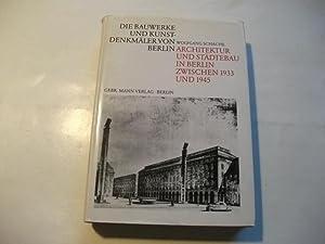 Architektur und Städtebau in Berlin zwischen 1933 und 1945.: Schäche, Wolfgang
