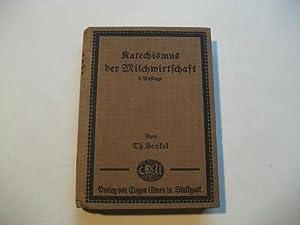 Katechismus der Milchwirtschaft.: Henkel, Theodor