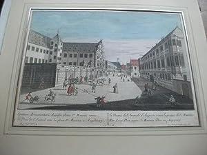 Der Zeug-Plaz gegen S. Morizen Plaz zu Augspurg.: Augsburg