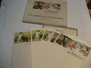 Les fables de la Fontaine Papier a lettre.: Briefpapier für Kinder