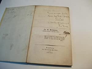 Johann Wessel ein Vorgänger Luthers. Zur Charakteristik der chrisltichen Kirche und Theologie ...
