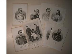 Sammlung von Portraits, deutsche Adlige.