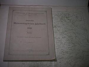 Deutsches Meterologisches Jahrbuch für 1933. Baden.: Peppler, A. (Hrsg.).