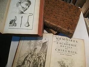 Memoires de l'Academie Royal de Chirurgie.: 4 Bände