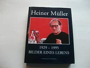 Heiner Müller 1929-1995. Bilder eines Lebens.: Schwarzkopf, Oliver & Schütt, Hans-Dieter (Hg.)