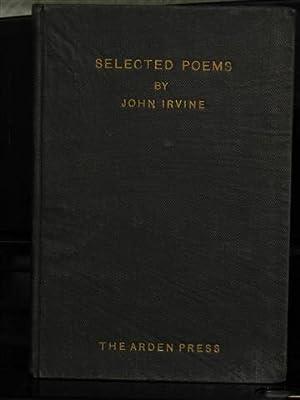 Selected Poems.: Irvine, John