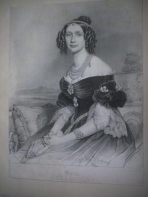 Maria. Königin von Sachsen.