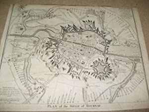 Plan of the siege of Tournay.