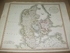 A new map of the Kingdom of Denmark, comprehending North and South Jutland, Zeeland, Fyen, Laaland,...