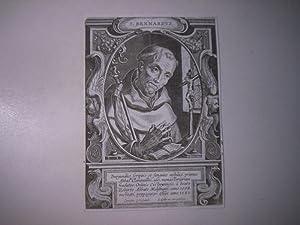 S. Bernardus.