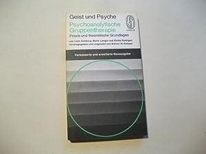 Psychoanalytische Gruppentherapie.: Grinberg, Leon u.a.