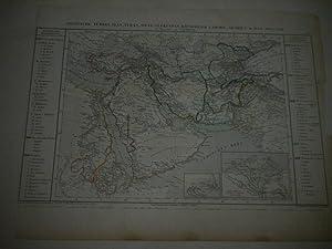 Asiatische Türkei, Iran, West-Turkestan, Königreich Lahore, Arabien & das Nilland.