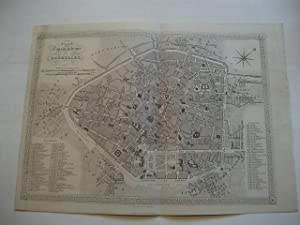 Plan Topographique de Bruxelles.: Brüssel