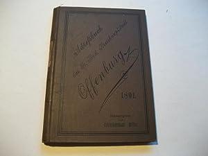 Adressbuch der Gr. Bad. Kreishauptstadt Offenburg. 1891.: Müller (Hg.)