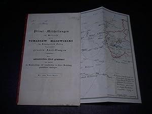 Privat-Mittheilungen in Betreff der zu Tomaszow Mazowiecki im Königreich Polen begonnenen ...
