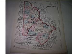 Wayne and Pike. Counties of Pennsylvania.