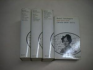 Rahel Varnhagen. Briefe in 4 Bänden.: Kemp, Friedhelm (Hrsg.)