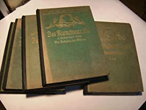 Das Marnedrama. 4 Teile in 5 Bänden.: Bose, Thilo v. u.a.