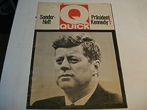 Sonderheft Präsident John F. Kennedy.: Quick