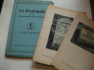 60 Grabmale aus dem Ersten Großdeutschen Grabmalwettbewerb.: Reichsinnungsverband des ...
