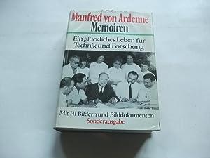 Memoiren. Ein glückliches Leben für Technik und Forschung.: Ardenne, Manfred von