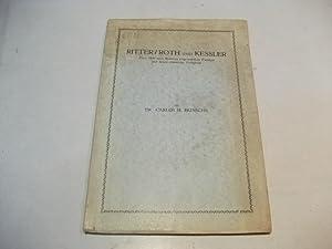 Ritter/ Roth und Kessler. Zwei 1846 nach Brasilien eingewanderte Familien und deren rheinische...