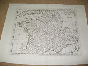 A new and correct map of France.: Frankreich